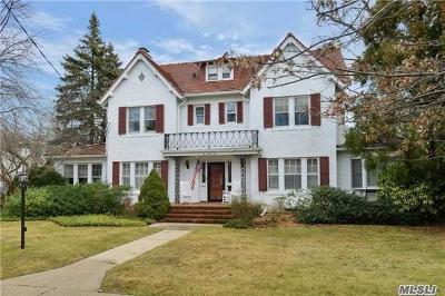 Rockville Centre Single Family Home For Sale: 241 Harvard Ave