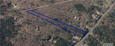 Sag Harbor Residential Lots & Land For Sale: 780 Rte 114