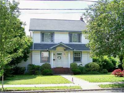 Malverne Single Family Home For Sale: 191 Hempstead Ave