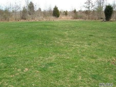 Cutchogue Residential Lots & Land For Sale: 325 Griffing St