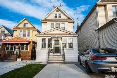 Rego Park Single Family Home For Sale: 86-20 Eliot Ave