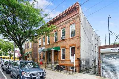 Ridgewood Multi Family Home For Sale: 386 Woodward Ave