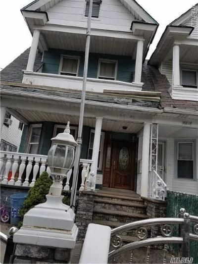 Ozone Park Multi Family Home For Sale: 105-20 88th St