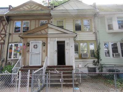 Woodhaven Single Family Home For Sale: 88-13 88 St