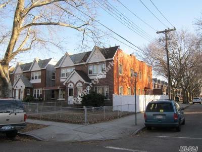 Ozone Park Multi Family Home For Sale: 83-02 133rd Ave