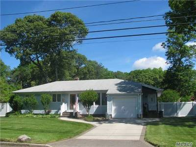 Lake Ronkonkoma Single Family Home For Sale: 3 Topaz Dr