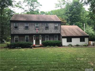 Setauket Single Family Home For Sale: 8 Van Brunt Manor Rd