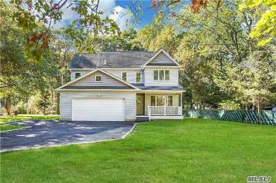 Middle Island Single Family Home For Sale: 32 Bailey Rd
