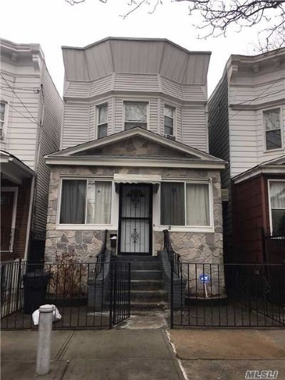 Woodhaven Single Family Home For Sale: 88-31 86 St