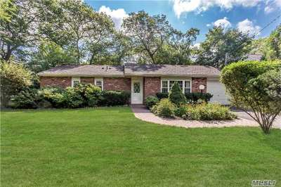 Hauppauge Single Family Home For Sale: 55 Public Rd