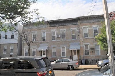 Ridgewood Multi Family Home For Sale: 60-37 Putnam Ave