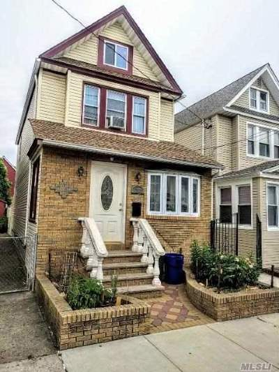 Woodhaven Single Family Home For Sale: 88-39 74 Pl
