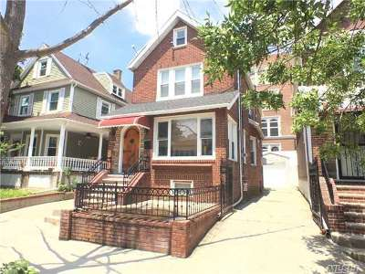 Woodhaven Single Family Home For Sale: 84-55 86th Ave