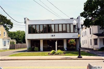 Patchogue Commercial For Sale: 157 N Ocean Ave
