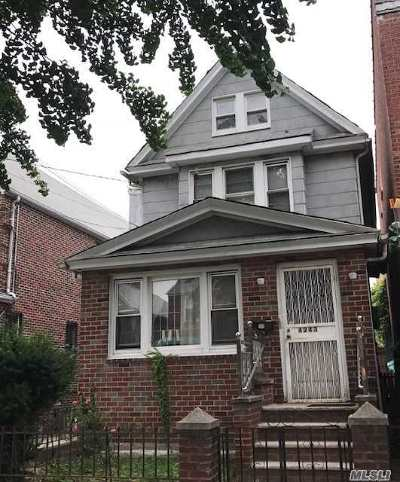 Elmhurst Single Family Home For Sale: 42-43 Gleane St