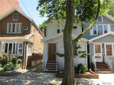 Woodhaven Single Family Home For Sale: 89-29 86th St