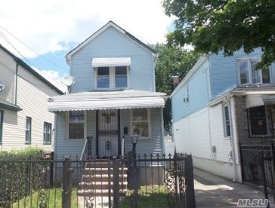 Jamaica NY Single Family Home For Sale: $349,900