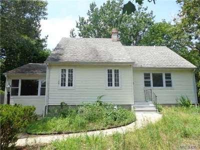 Centereach Single Family Home For Sale: 156 Hammond Rd