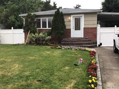 Deer Park NY Single Family Home For Sale: $319,000