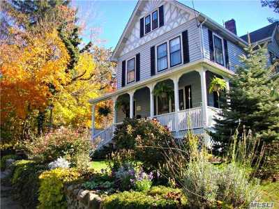 Port Jefferson Single Family Home For Sale: 204 Myrtle Ave