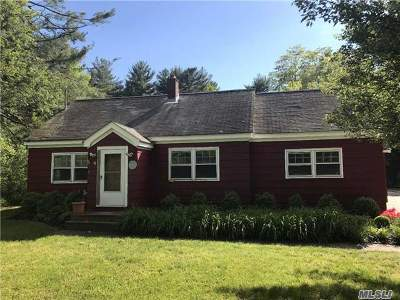 Middle Island Single Family Home For Sale: 4 Miller Place