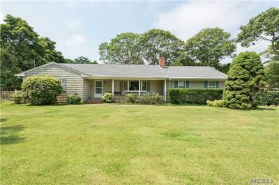 Southampton Single Family Home For Sale: 309 Majors Path
