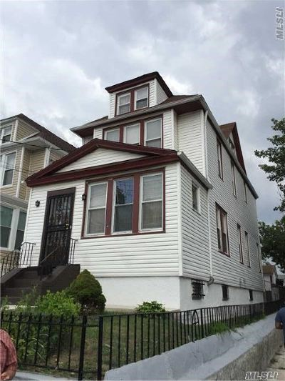 Single Family Home Sold: 121-02 111th Ave