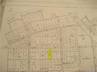 Ridge Residential Lots & Land For Sale: Elizabeth Way