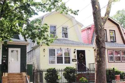 Woodhaven Single Family Home For Sale: 89-36 90 St