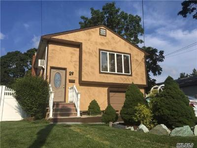 Copiague NY Single Family Home For Sale: $384,950