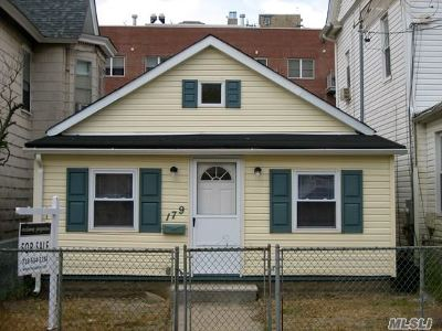 Rockaway Park Single Family Home For Sale: 179 Beach 101st St