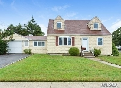 Hicksville Single Family Home For Sale: 1 Essex Ln