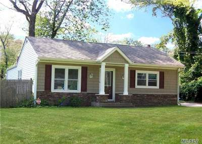 Middle Island Single Family Home For Sale: 12 Cedar Branch St