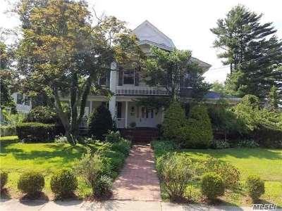 Rockville Centre Single Family Home For Sale: 332 N Village Ave