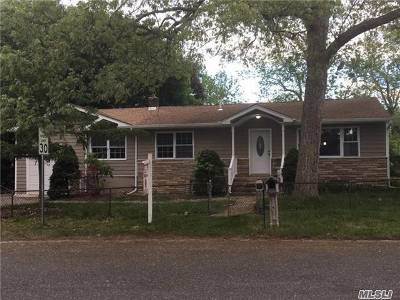 Centereach NY Single Family Home For Sale: $359,000