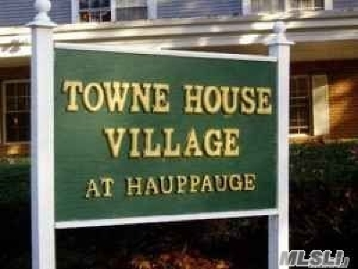Hauppauge Rental For Rent: 1006 Towne House Vill