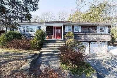 Nesconset Single Family Home For Sale: 260 Gibbs Pond Rd