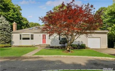 Hauppauge Single Family Home For Sale: 312 Lincoln Blvd