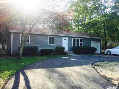 Middle Island Single Family Home For Sale: 50 W Bartlett Rd