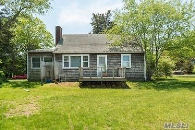 Sag Harbor Single Family Home For Sale: 19 Cornell Rd