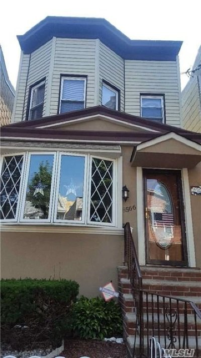 Woodhaven Single Family Home For Sale: 85-66 80th St