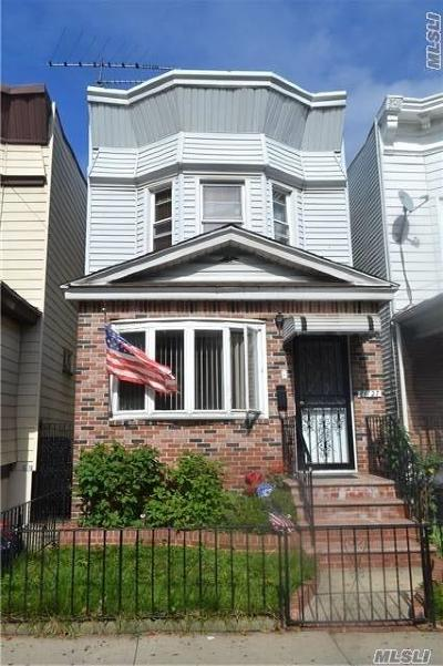 Woodhaven Single Family Home For Sale: 88-27 86th St