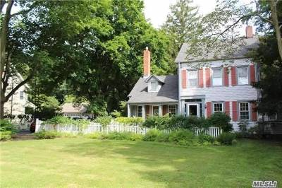 E. Setauket Single Family Home For Sale: 87 Old Post Rd
