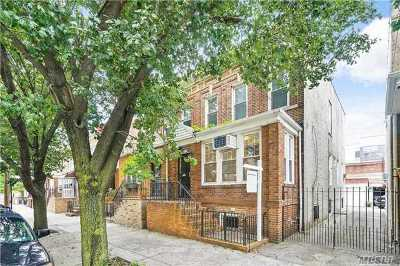 Ridgewood Single Family Home For Sale: 17-17 Centre St