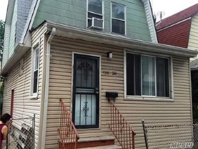 Flushing Single Family Home For Sale: 136-26 Carlton Pl