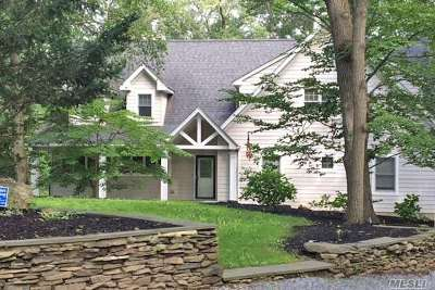 Smithtown Single Family Home For Sale: 166 Oakside Dr