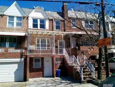 Elmhurst Single Family Home For Sale: 51-79 74th St