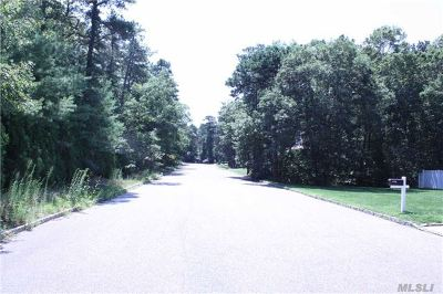 Center Moriches Residential Lots & Land For Sale: Robinson St