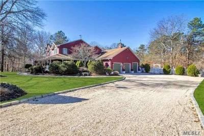 Manorville Single Family Home For Sale: 70 John Ln