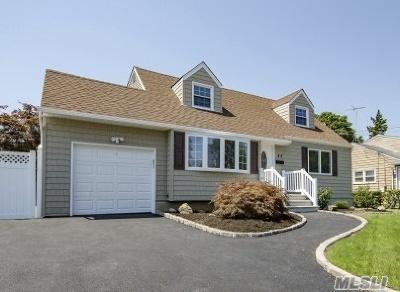 Massapequa Park Single Family Home For Sale: 45 Joludow Rd